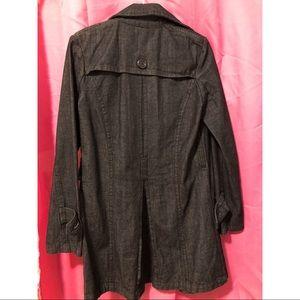 touch me Jackets & Coats - Denim dark wash coat